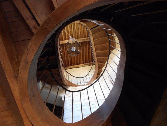 Auberge De LAbbatiale Escalier 18me Sicle
