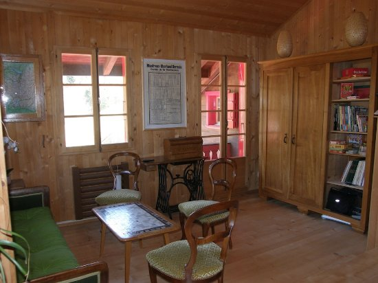 Rossinière, Svizzera: Salon