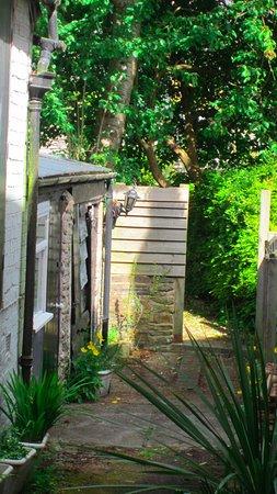 Knighton, UK: garden