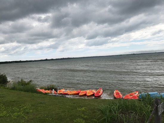 Baileys Harbor, WI: Kayaks to rent