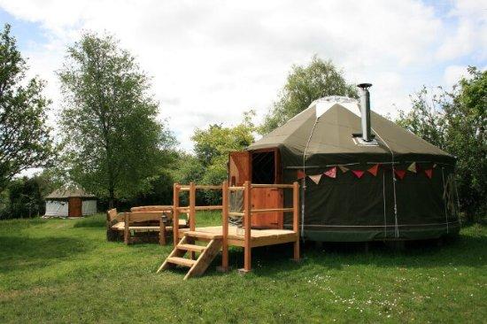 Luxury Yurt Exterior 2 - Picture of Crann Og Eco Farm