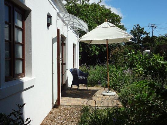 Rondebosch, Republika Południowej Afryki: Pin Oak Suite patio
