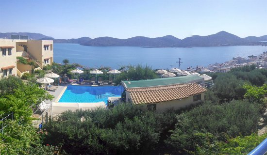 Elounda Heights Apartments and Studios: View from studio Ares