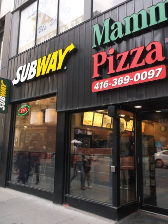 SUBWAY, Toronto - 127 Yonge St, Old Toronto - Restaurant Reviews