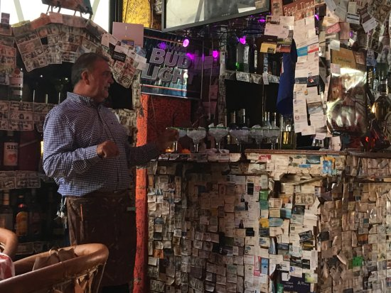 Tequila's Sunrise Bar & Grill : The owner always there.