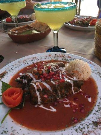 Tequila's Sunrise Bar & Grill : My Favorite dish Chicken Chili Relleno.