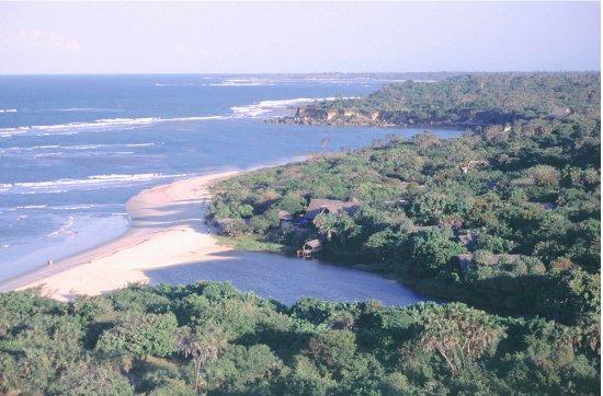Aerial photo of Ras Kutani