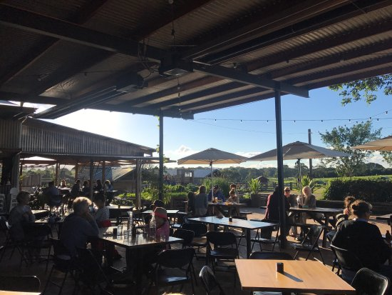 Ewingsdale, Australia: Lunch at Three Blue Ducks, a must do if you are in Byron.