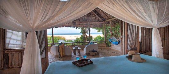Kutani, Tanzânia: Beach Cottage View