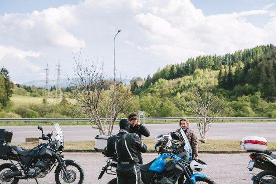 Brezno, Slovakia: Getting ready for the next trip