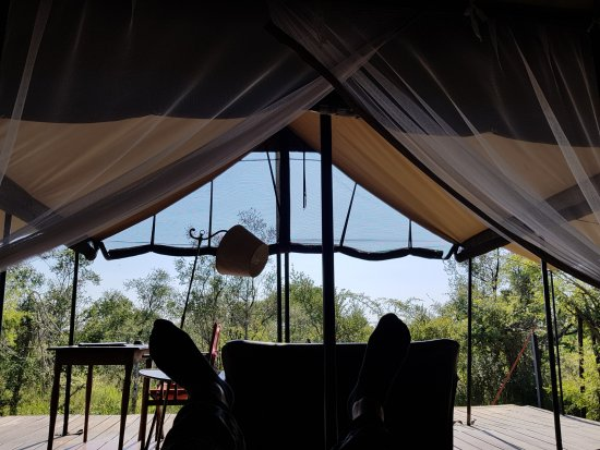 Honeyguide Tented Safari Camps: From the bed in the tent