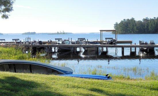 Kabetogama, MN: Docks