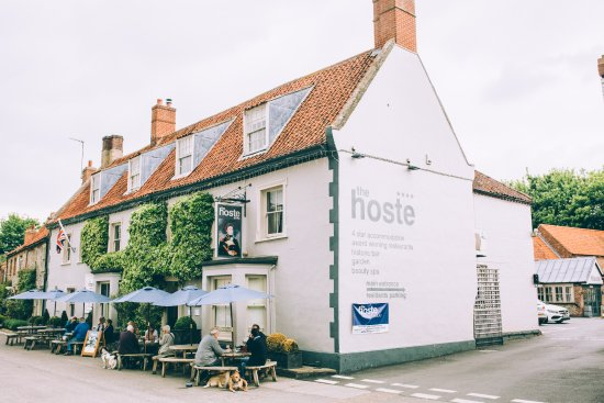 Exterior of The Hoste hotel