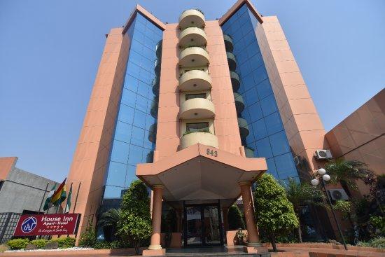 House Inn Apart Hotel: Fachada Principal