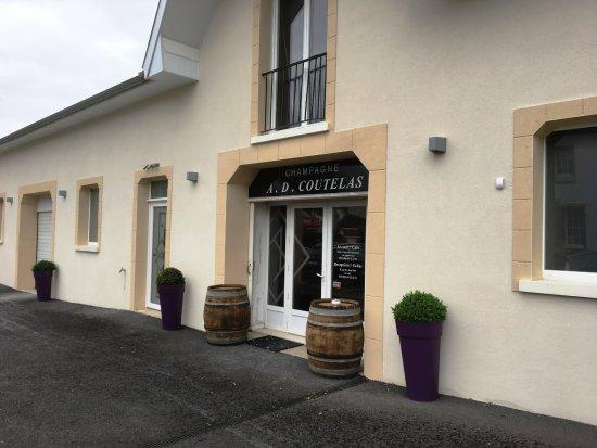 Dizy, Frankrig: Champagnerverkauf