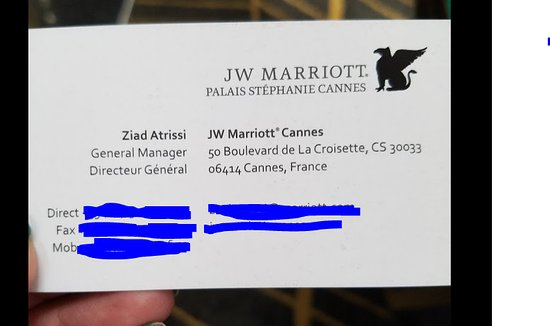 General Manager Picture Of Jw Marriott Cannes Tripadvisor