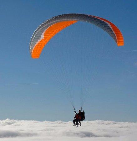 Santa Pola, إسبانيا: Sobre las nubes