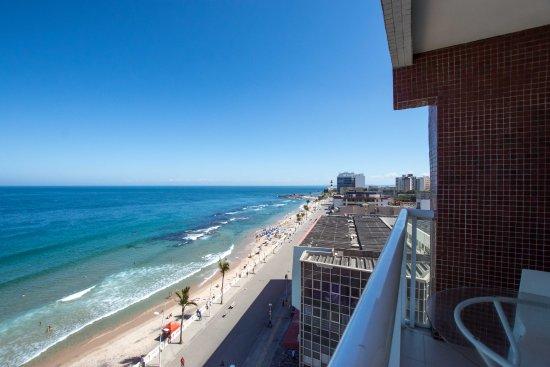 Monte Pascoal Praia Hotel Salvador: Varanda Apto Luxo Frente Mar