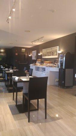 Hotel America Vigo: sala colazione