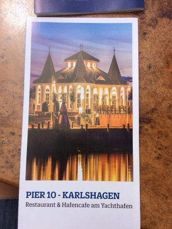 Karlshagen, Tyskland: Restaurant Pier 10
