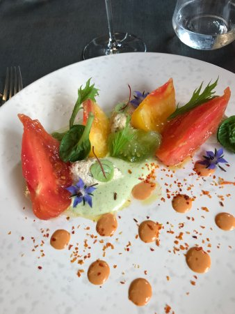 Fleurie, França: Merveilleuse assiette...