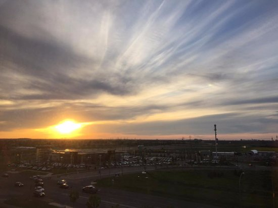Four Points by Sheraton Edmonton Gateway: View from room 612