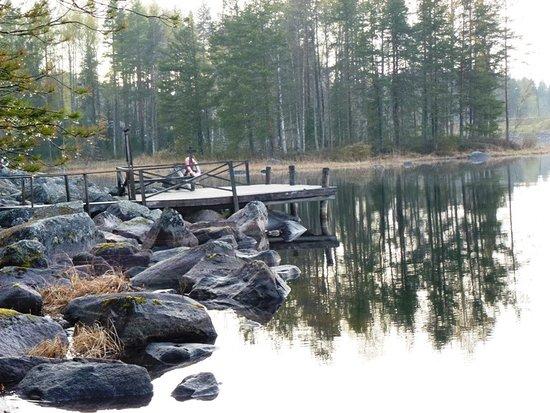Viitasaari, Finlândia: Still ruht der See - auch ohne Schnee