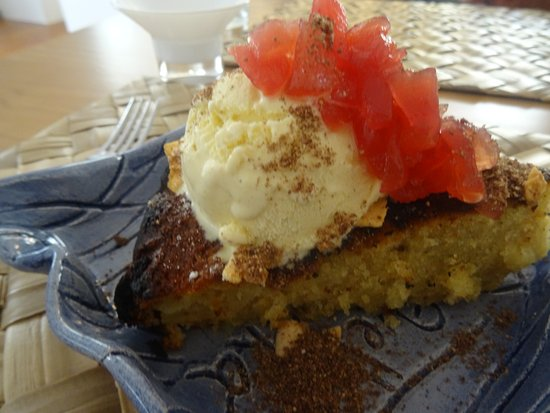 Iguarias de Portugal: apple cake!