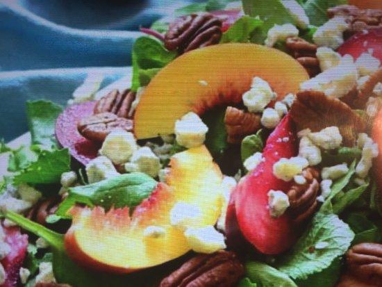 Brooksville, Floride : Stone fruit salad