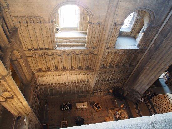 Ely, UK: It can get a bit vertiginous reaching the West tower!