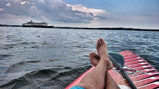 Summerside, Canada : Relaxing on the water