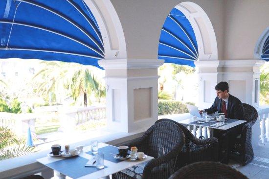 Rosedon Hotel: Huckleberry Restaurant Business Breakfast