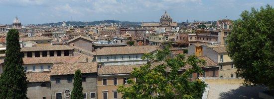 Vue De La Terrasse Picture Of Terrazza Caffarelli Rome