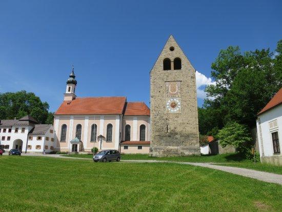 Kloster Wessobrunn, Prälatentrakt