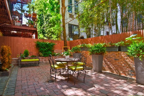 East Village Apartments: Garden Duplex Outdoor Patio