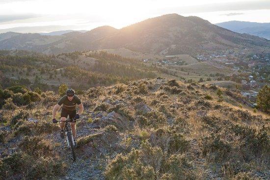 Mountain biking in Helena, Montana