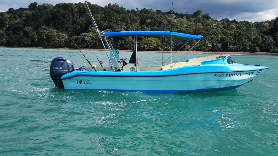 Provincia de Puntarenas, Costa Rica: Minor Morales and sport fishing Boat el Pinino