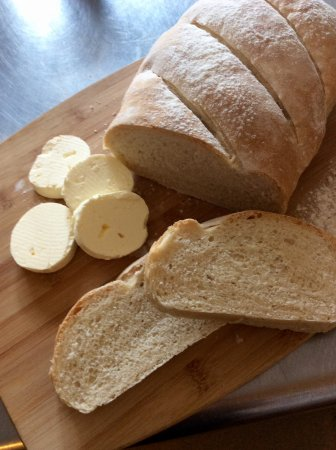 George & Dragon: We've been making our own butter and bread