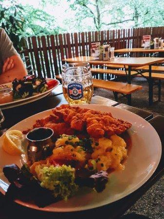 Paul Stube : preferred traditional dish schnitzel