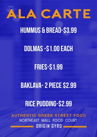 Hurst, Τέξας: Our AlaCarte Menu