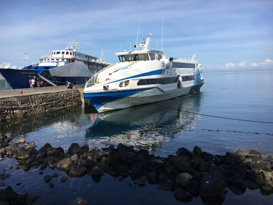 North Sulawesi, Indonesia: One of the ferries to the island