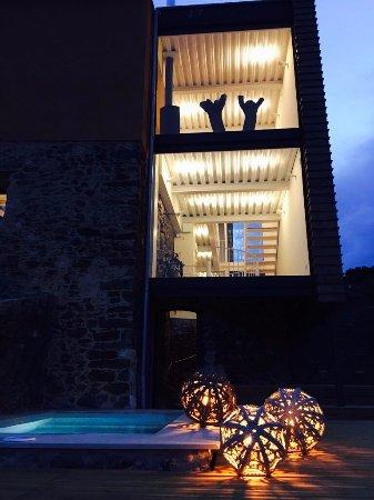 Foto de Mas Vivent, Vilamaniscle: Baño habitación doble superior - Tripadvisor