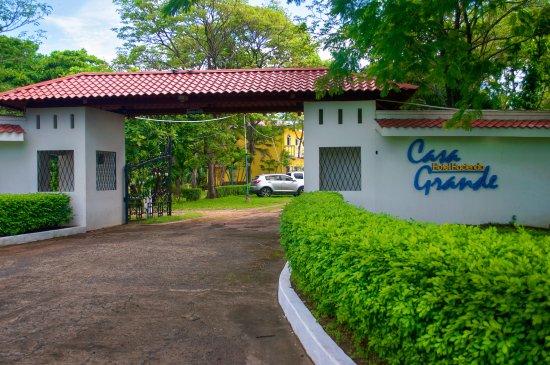 Département de Rivas, Nicaragua : Hotel Hacienda Casa Grande, Hotel entrance