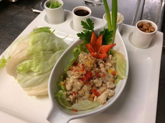 Wauseon, OH: Our award-winning lettuce wraps made of the finest and freshest ingredients from around the area