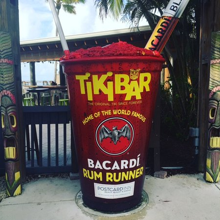 Tiki Bar At Holiday Isle: Tiki_RumRunner