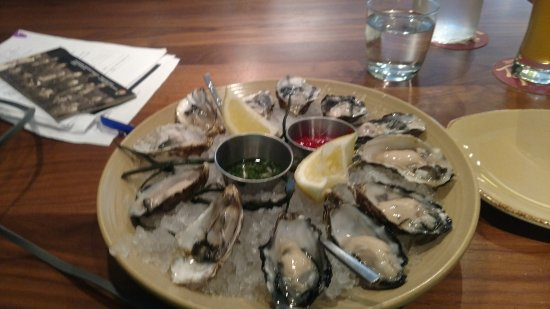 Oysters at Revel!!! - Picture of Revel Kitchen and Bar, Danville ...