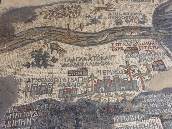 Carte de Madaba : The map!