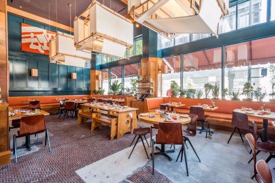 The Exchange Restaurant Los Angeles Downtown Menu