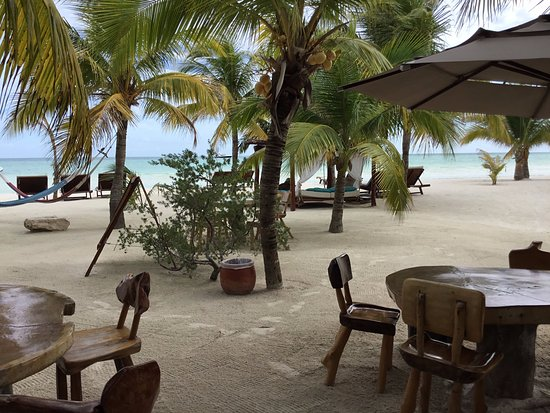 Holbox Hotel Mawimbi: Your backyard while you stay here :)