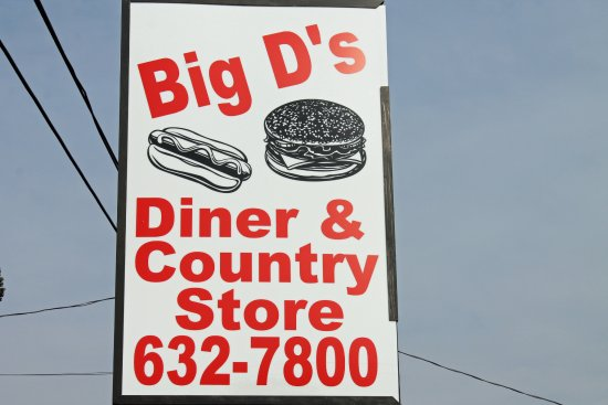 Taylorsville, NC: Outdoor signage